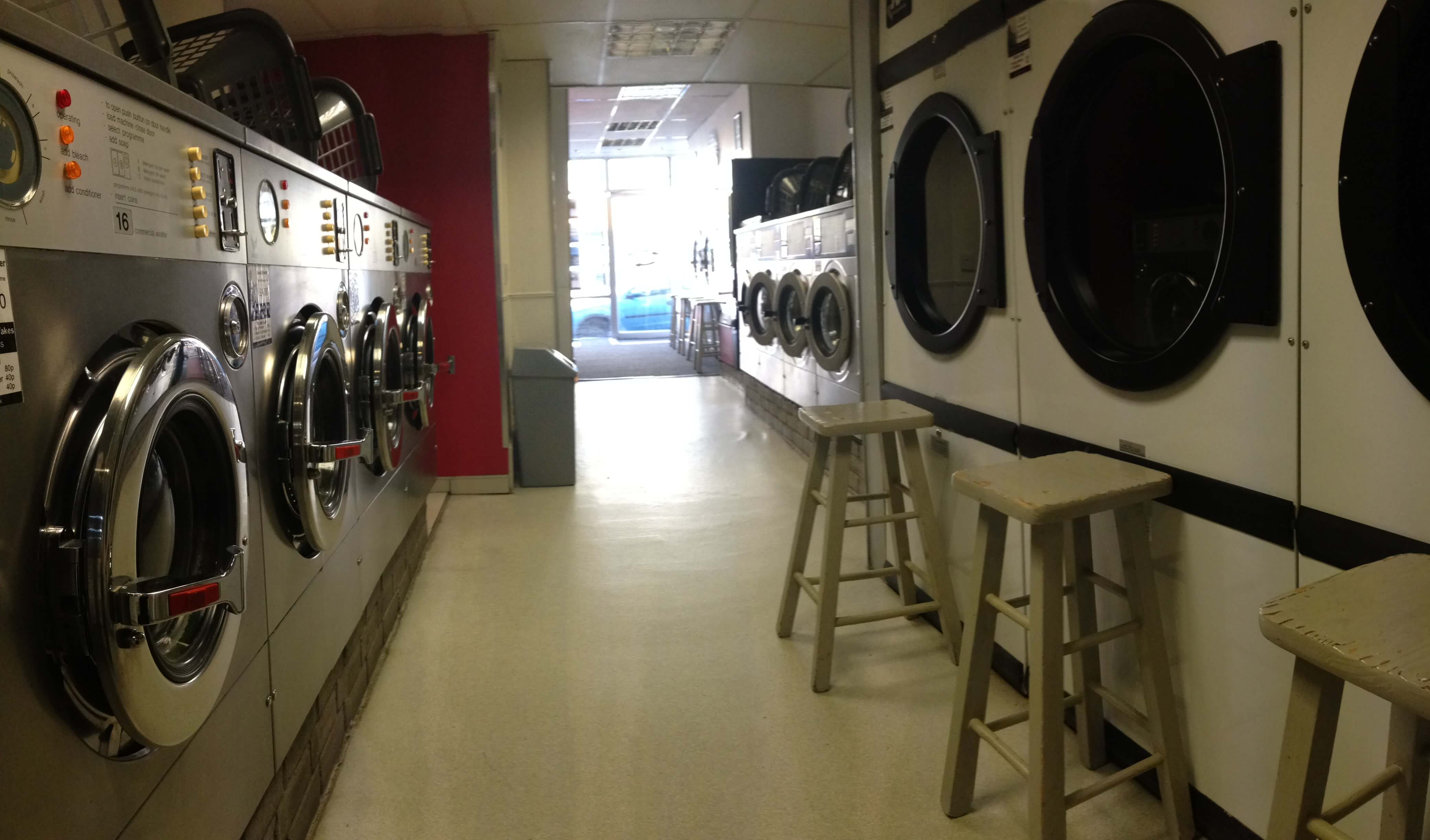 A view from the back of the shop @ Drift-In
