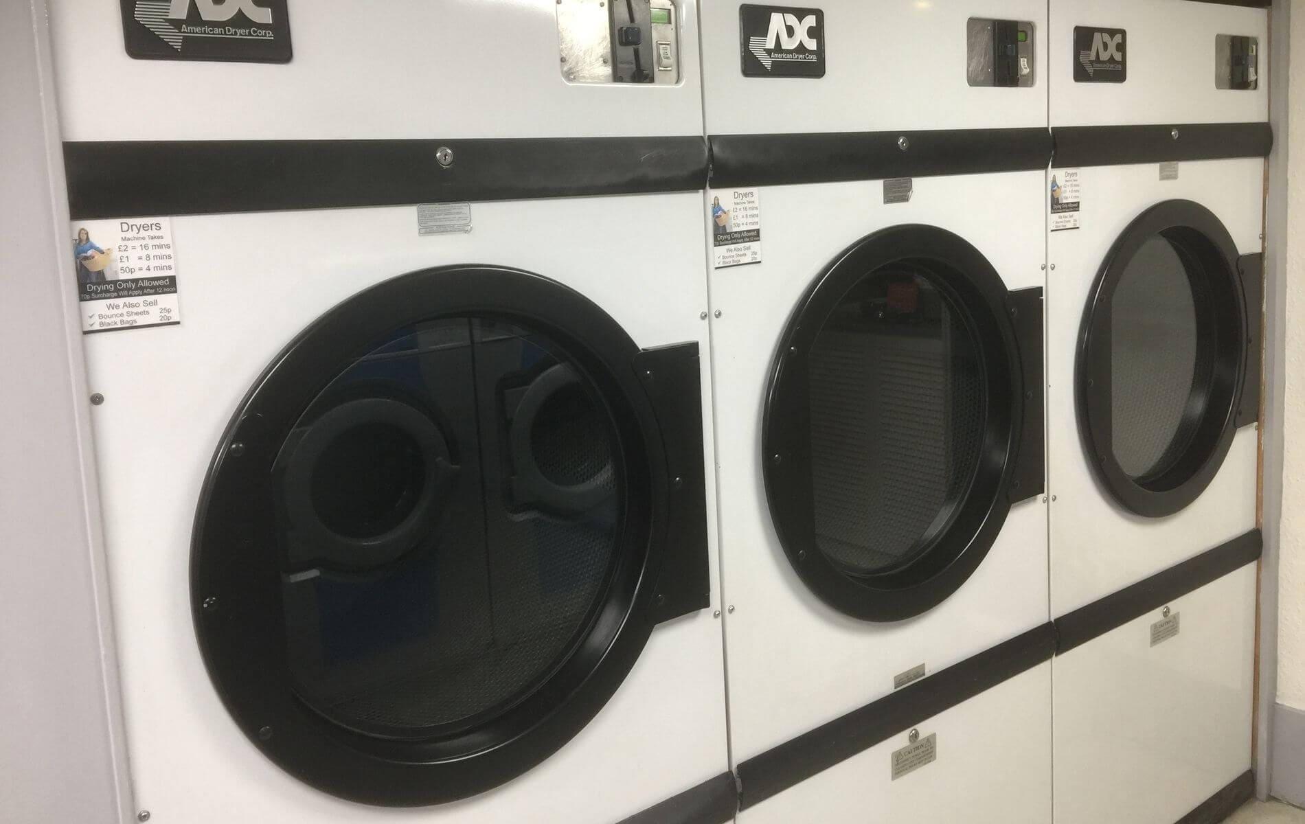 Drift-In launderette